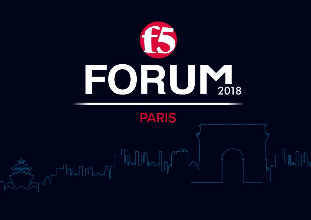 13/03/2018 : Retrouvez-nous à l'occasion du F5 Forum Paris !