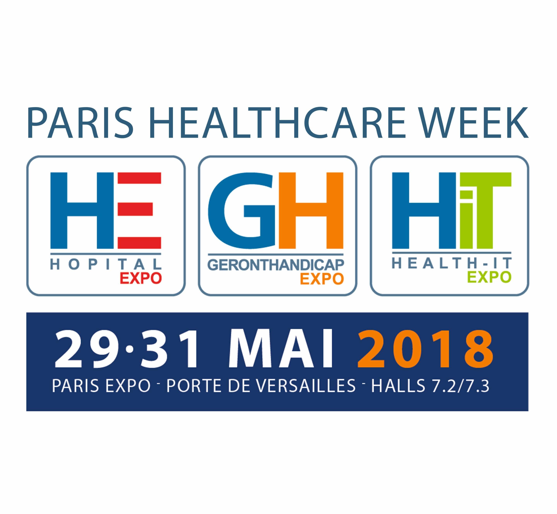 29-31/05/2018 : Venez rencontrer nos experts lors de la Paris Healthcare Week