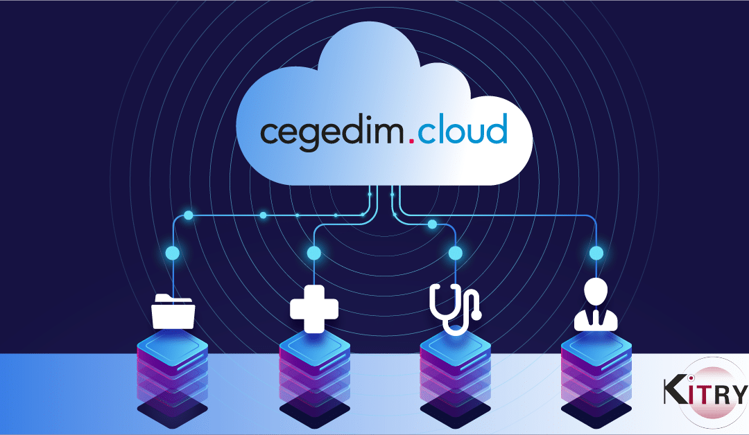 Cegedim.cloud works with KITRY to manage more than 2 million medical records