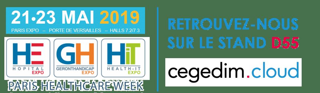Venez nous rencontrer lors de la Paris Healthcare Week du 21 au 23 Mai