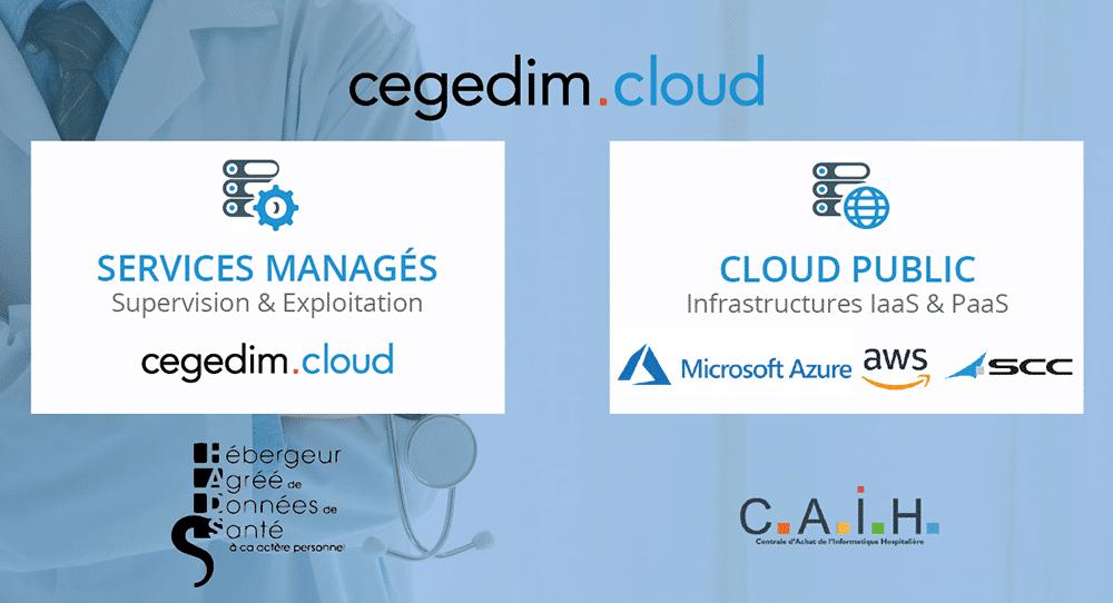La CAIH choisit SCC France en partenariat avec cegedim.cloud pour son offre de Cloud Public