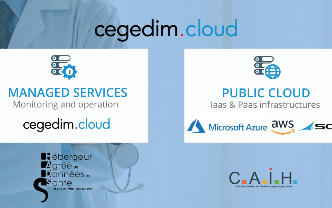 CAIH chooses SCC France in partnership with cegedim.cloud for its Public Cloud offer